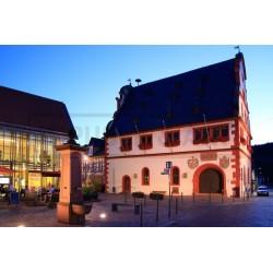 Rathaus bei Nacht -...